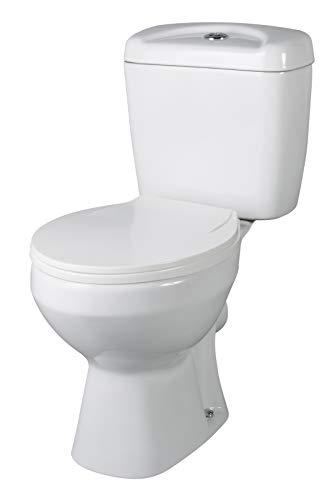 VeeBath PRI002 bas toalett, vit