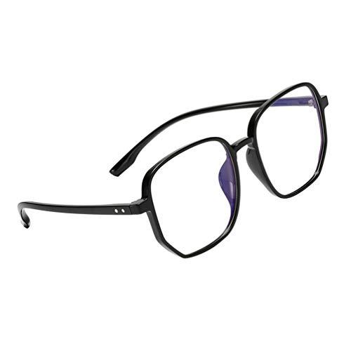 PRETYZOOM Luz azul: las gafas bloquean las gafas de ordenador, reducen los ojos y las gafas unisex nerd para ver gafas de juego.