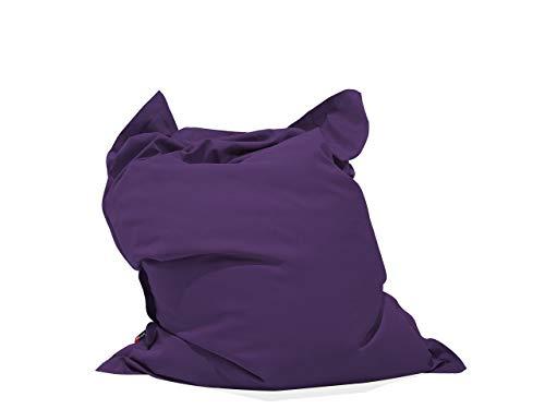 Beliani Original Indoor & Outdoor Sitzsack in Violett