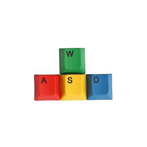 YEZIO KeyCaps de Teclado de PC Dirección Key Caps Dye-Sublimation Color Suplemento Color Coincidencia PBT Mecánico Keycap para casa (Color : Red)