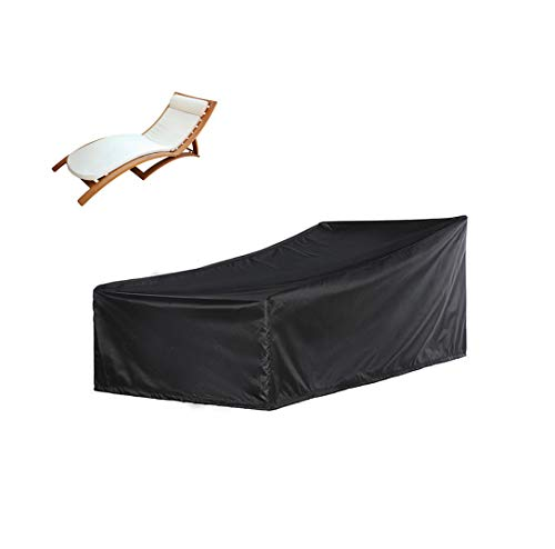 Waterproof Patio Chaise Lounge Chair Cover, Heavy Duty Outdoor Patio Furniture Covers(1, 82.6L30