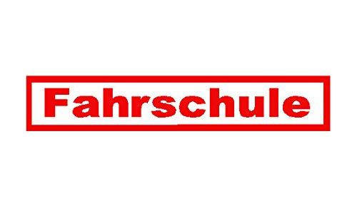 Beschriftungsspezi Aufkleber/Autoaufkleber Fahrschule. Mit Original Patentiertem Sternix Aufkleber