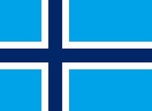 magFlags Drapeau Large Svalbard | A Version of File Flagg AV Svalbard | Drapeau Paysage | 1.35m² | 100x140cm