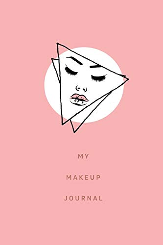 My Make-up Journal: 60 Professional Blank Face Charts for Make-up Artist