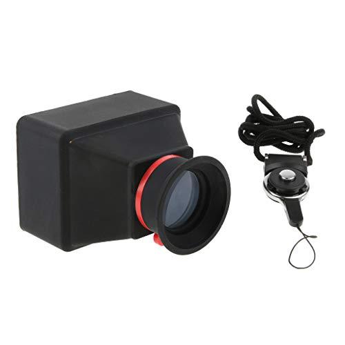 Baoblaze LCD Viewfinder Displaylupe Sucherlupe (3X Vergrößerung) für DSLR-Kamera mit 3,0/3,2 Zoll LCD-Schirm - 3,0 Zoll