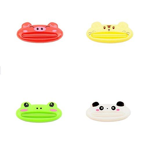 Kaigeli888 Cute Animal Multifunktions -Zahnpastaquetscher Extruder Tuben-Ausdrücker tubenausdrucker,Sent durch gelegentliche Farbe