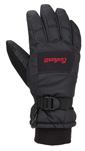 Carhartt Women's Waterproof Glove, black, Small