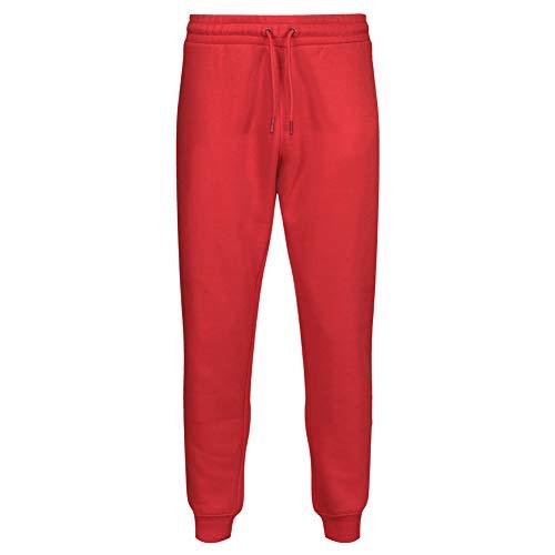 RIPT Performance Ript Essentials by RCPNT764 - Pantalones Deportivos para Hombre con Tacto Suave, Hombre, Pantalones Deportivos, RCPNT764_Red_M, Rojo, M