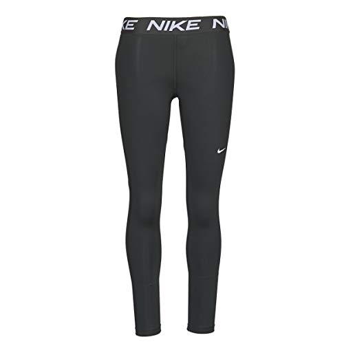 Nike Victory, Leggings da Training Donna, Black/Black/White, L