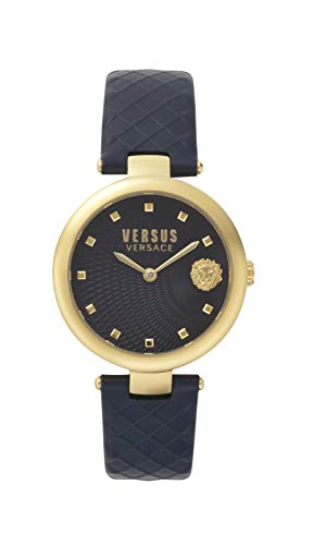Versus Versace dameshorloge analoog kwarts leder VSP870318