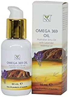 Y-Not Natural Ultra Pure Australian Emu Oil with Lavender - 2 oz - Luxury, Pharmaceutical Grade Emu Oil for Hair, Skin, and Scalp