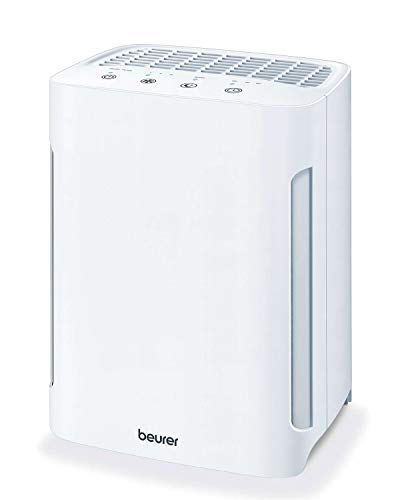 Beurer LR210 Air Purifier for Home, 3-Layer H13 True HEPA Filter System, 3 Fan Settings, Clean Ambient Air, Air Filter for...
