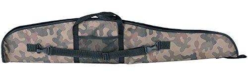 Funda para Armas Rifle Caza Escopeta táctico Espuma 120 cm Camuflaje Militar [015/1]