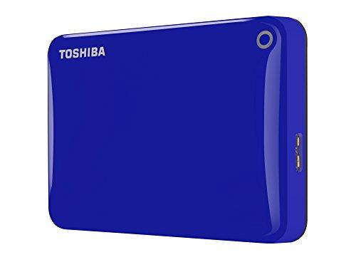 Toshiba Canvio Connect II  Disco duro externo de 2 TB USB 30 635 cm 25 azul