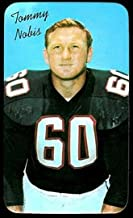 1970 Topps super (Football) Card# 29 Tommy Nobis SP of the Atlanta Falcons VG Condition