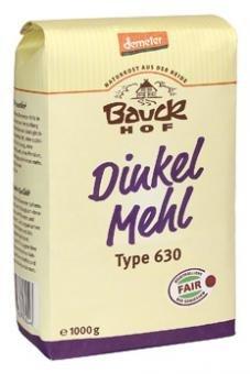 Dinkelmehl Type 630, Demeter, 2 x 1kg