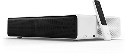 Xiaomi Mi Laser-Projektor 150 (Full-HD HDR, Dolby Audio / DTS HD, WLAN, USB, HDMI, Bluetooth, Ethernet, Audio Output, AV Input, ALPD 3.0, 5000 Lumen) High End Speaker, Google Assistant, Android 8.1