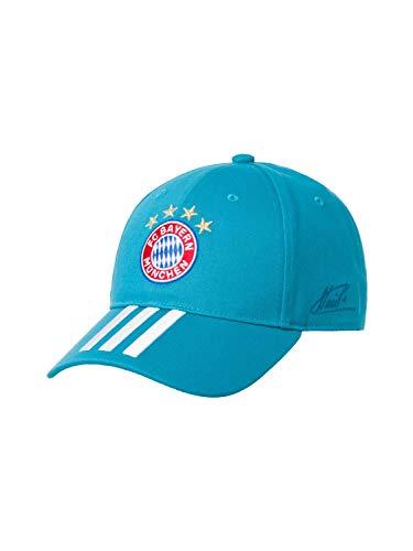 adidas FC Bayern Baseball Cap Signature Baseballkappe, Labgrn/White, OSFY