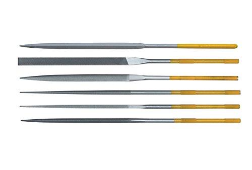 Grobet Swiss Pattern Needle File INOX 7 inch Set of 6 Cut 0