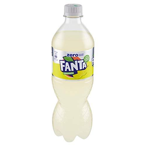 12x Fanta Lemon Zero zitrone flasche Zitronenmark ohne zucker 1Lt 100% italien