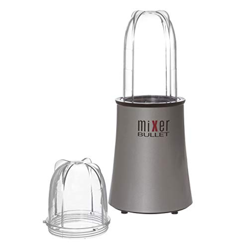 Frullatore Mixer Bullet ultraveloce da 350W Grigio Nero