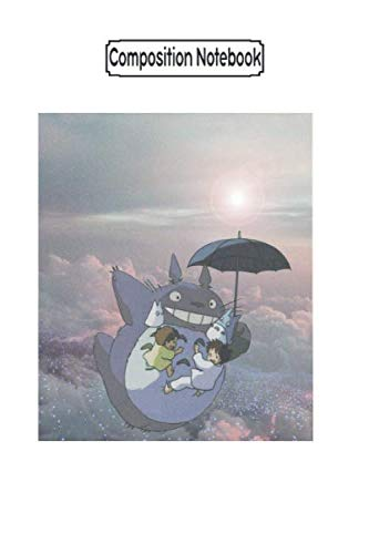 Composition Notebook: Totoro Anime Anime Trending Notebook 2020 Journal Notebook Blank Lined Ruled 6x9 100 Pages