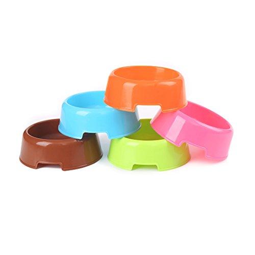5Pcs/Set Plastic Candy Color Pet Ca…