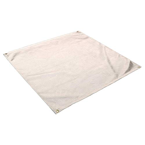 Evenlyao Fire Pit Mat, Under The Grill Mat, Heat Resistant Fireproof Protector Mat Fiberglass Cloth Barbecue Cooking Mat for Backyard Outdoor Deck Patio