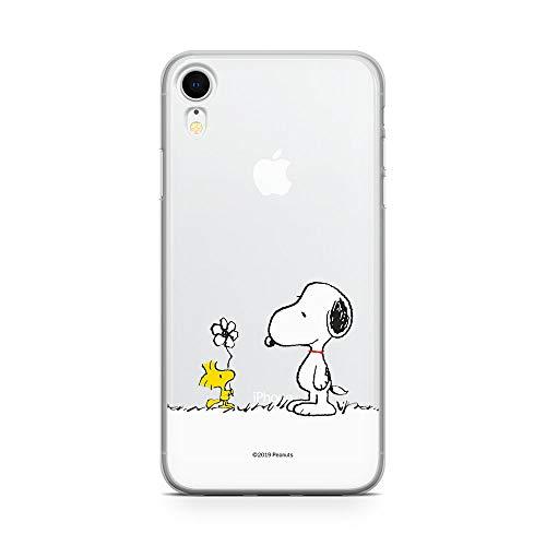 Original & Offiziell Lizenziertes Snoopy Handyhülle für iPhone XR, Hülle, Hülle, Cover aus Kunststoff TPU-Silikon, schützt vor Stößen & Kratzern