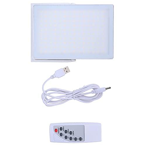 WJIN Lámpara para terapia de la luz, temporizador, lámpara para terapia de luz LED con mando a distancia para el tratamiento de la depresión, carga USB 5 V