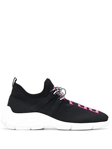 Prada Luxury Fashion Damen 1E344L3V98F0JNG Schwarz Polyester Sneakers | Frühling Sommer 20