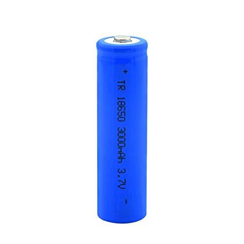 THENAGD Batería De Litio Puntiaguda 18650 3.7v 3000mah, Batería Recargable De Carga De Iones De Litio para Linterna 2pcs