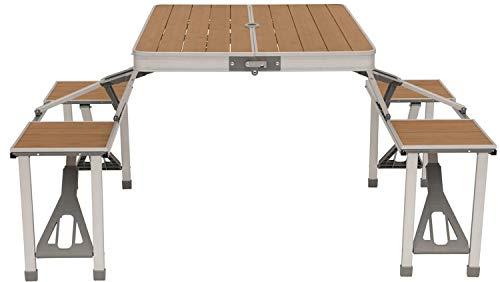 Outwell Dawson Picnic Table Campingtisch Grau/Braun
