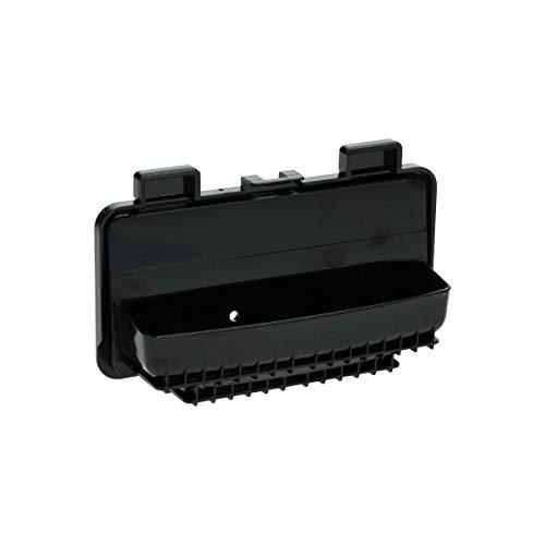 Tirador de puerta (negro) para lavavajillas 00441040 Siemens Gaggenau, Balay