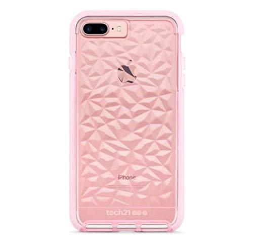 Tech21 EVO - Carcasa para iPhone 8 Plus y 7 Plus, Color Rosa