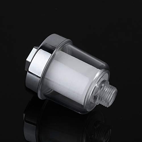 Adaptador de grifo 1 juego de filtro universal de agua purificadora de agua para cocina, baño, ducha, filtro de algodón de alta densidad, repuesto de calidad de agua NIANNIAN