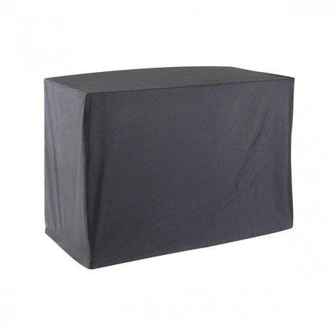 GREEN CLUB Housse De Protection pour Chariot plancha Haute Qualité Polyester L 80 x l 60 x h 80 cm Couleur Anthracite