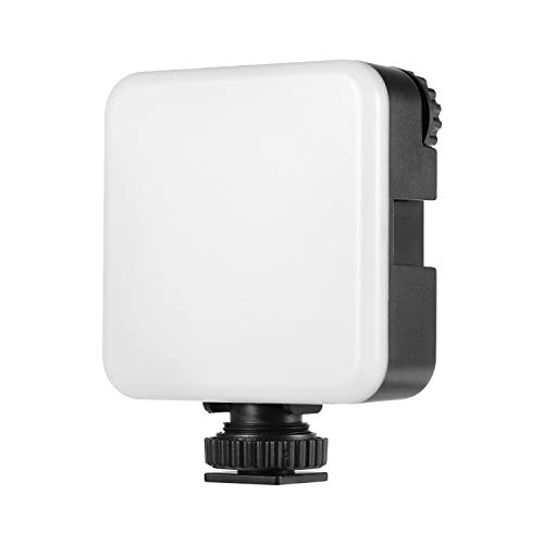Mogzank Luz de Video LED RGB, Luz de Fotografía Regulable de Bolsillo PortáTil, Luz de Relleno Vlog para TeléFono Inteligente, CáMara RéFlex Digital DSLR