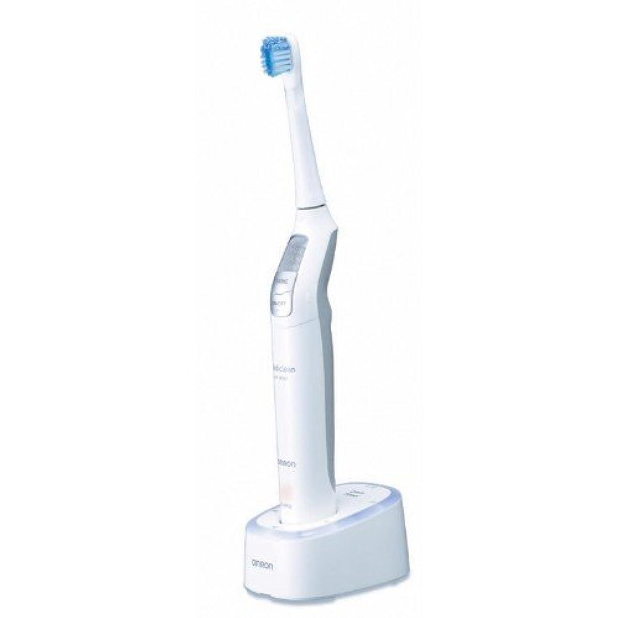スケジュールおとなしい藤色オムロン 音波式電動歯ブラシ メディクリーン HT-B551