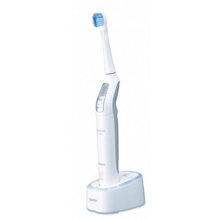 リング適度なステッチオムロン 音波式電動歯ブラシ メディクリーン HT-B551