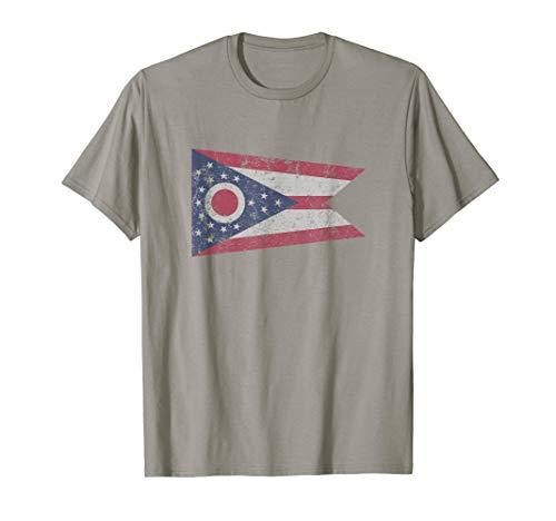 State Of Ohio The Buckeye State Columbus Cleveland T Shirt