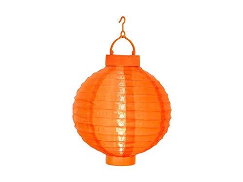 Best Season Solarlampion, 1 Cool Light LED mit Solarpanel inclusive Akku Outdoor, Vierfarb-Karton circa 30 x 20 cm, orange 479-18