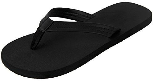 4HOW Mens Casual Beach Flip Flops Non Slip Shower Thong Sandals