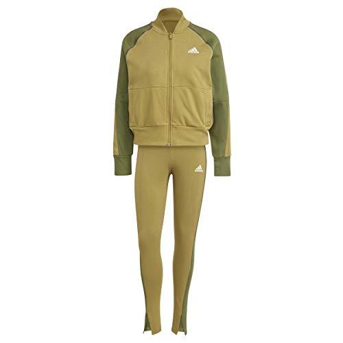 adidas GL9466 W TS Bomb&Tght Tracksuit womens wild moss/wild pine S