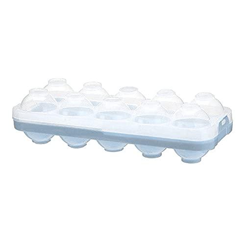 Caja de almacenamiento de huevos de cocina Bandeja de huevos Contenedores para el hogar Refrigerador 20 rejillas de huevos titular dispensador hermético fresco organizador