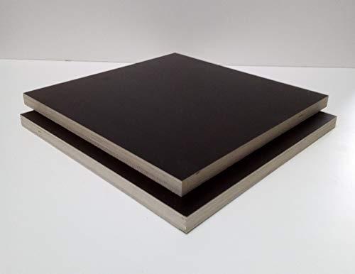 21mm starke Siebdruckplatten Multiplexplatten Holzplatten Tischplatten. Zuschnitt auf Maß. Sondermaße ! (60x110cm)