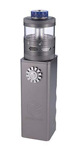 Steam Crave, Titan E Zigarette bis 84 Volt Ausgangsleistung Verdampfer als RDA und RDTA nutzbar Farbe, Gunmetal