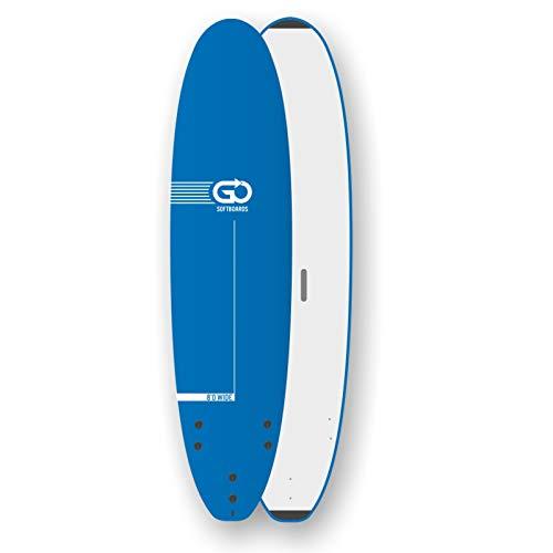 TORQ GO Softboard School Surfboard 8.0 Wide Body Azul Wellenreiter Surfbrett Schaumdeck