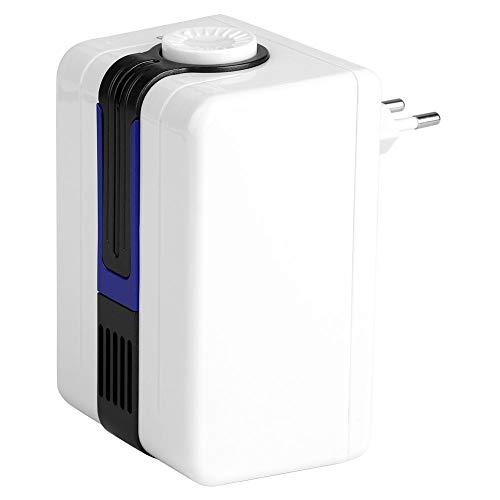 Estink Purificador de aire para casa, purificador de aire, ionizador aníónico negativo, AC 110 ~ 240 V, elimina la purificación del polvo de formaldehído, purificación de la UE, enchufe (azul)