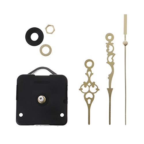 YoungerY (1 Satz Uhrwerk mechanische Hand Wandreparatur Werkzeugteile Stummschaltung